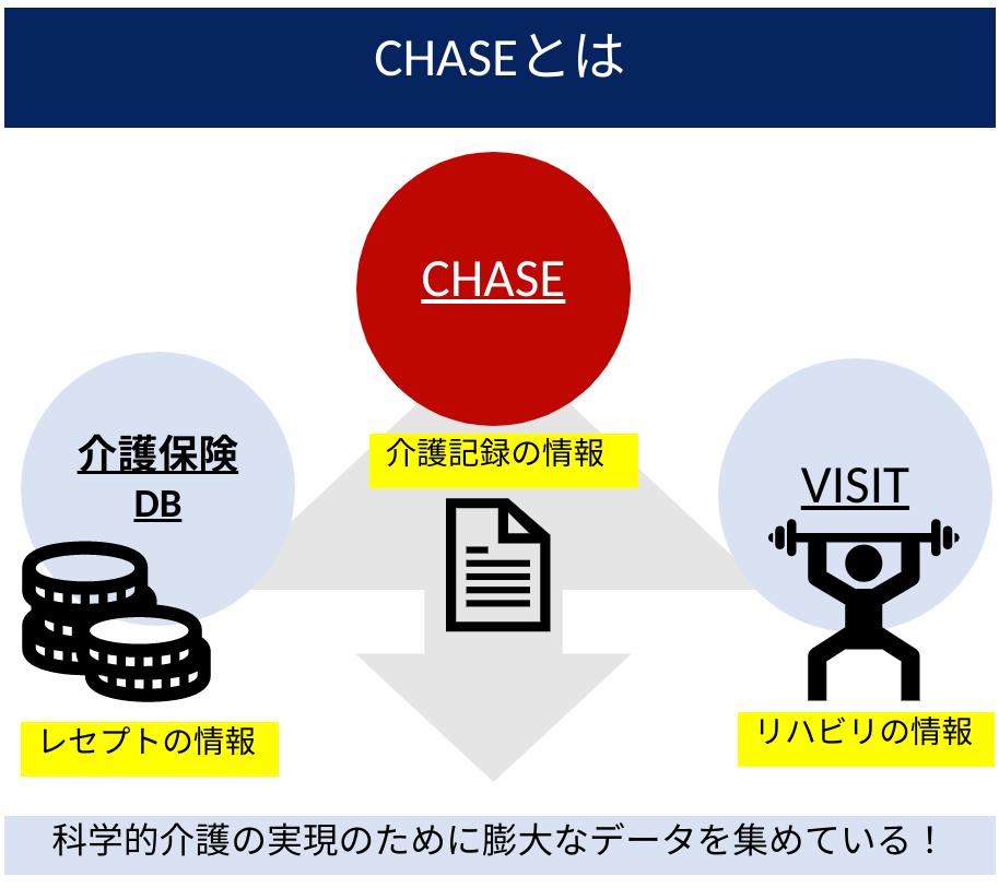 Chaseは介護記録の情報を集約するためのデータベースです