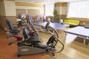介護施設のリハビリ訓練機器