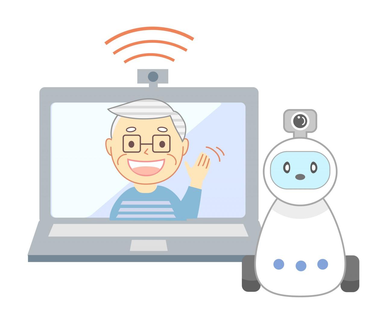 見守りロボットとは?従来の支援機器との比較や効果